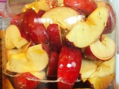紅玉りんごのシロップ